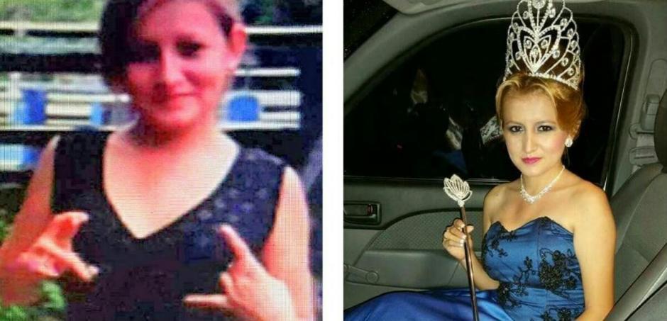 Ingrid Suyapa Padilla Flores es miembro de un clica de la pandilla MS. (Foto: Twitter)