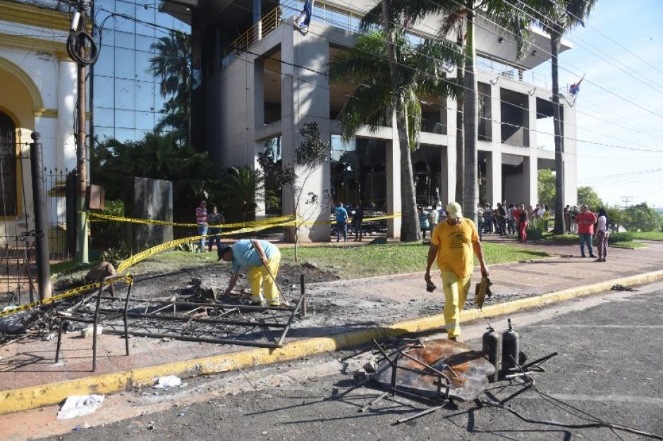 La jornada de manifestaciones dejó un muerto. (Foto: AFP)