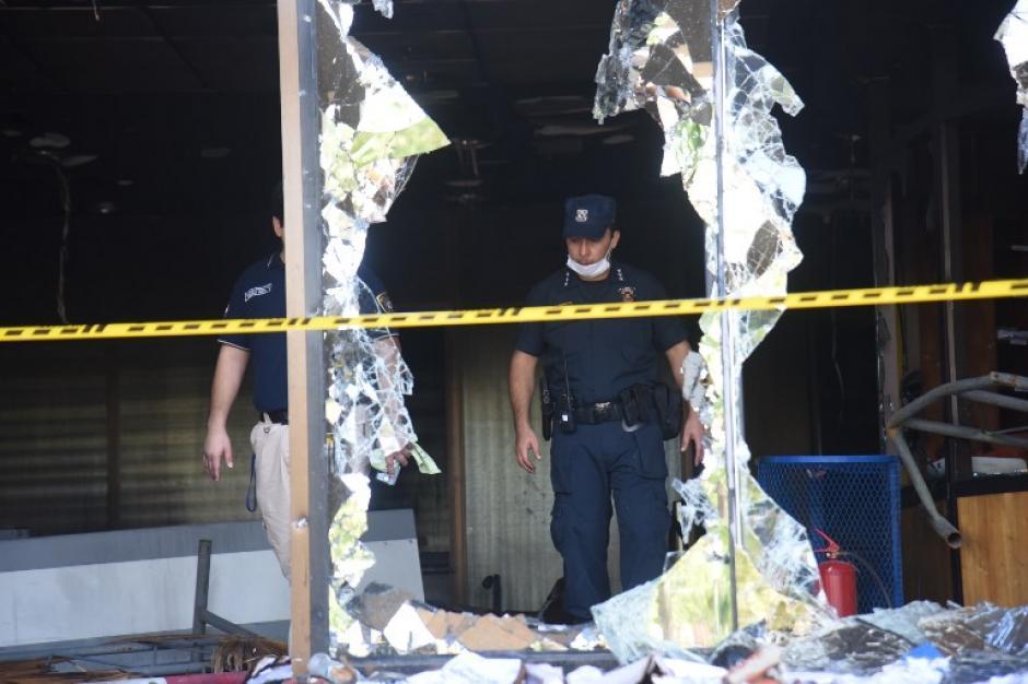 La policía reforzó la seguridad del lugar. (Foto: AFP)