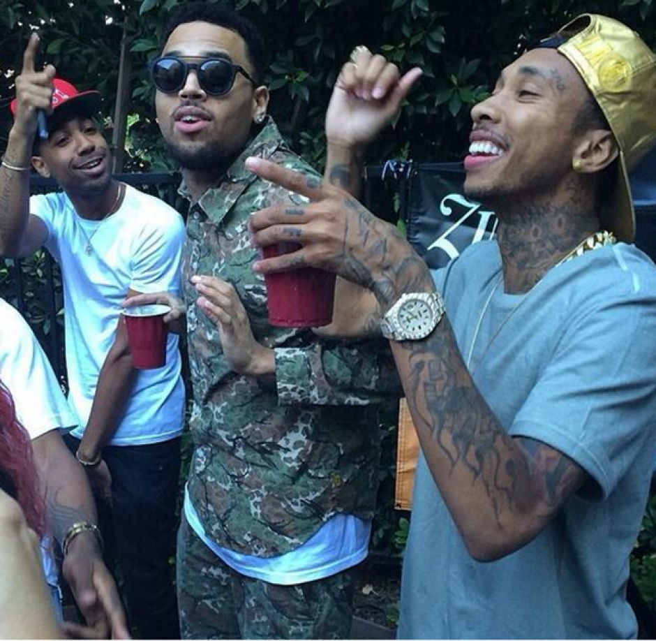 Chris Brown tiene serios problemas de convivencia. (Foto: That Grape Juice)