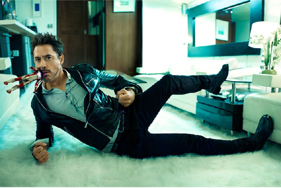 No querrías a Robert Downey Jr. de vecino. (Foto: Why Blue Matters)