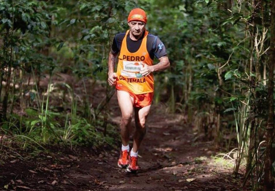 Pedro Recinos representará a Guatemala en la maratón de Boston. (Foto: Pedro Recinos)