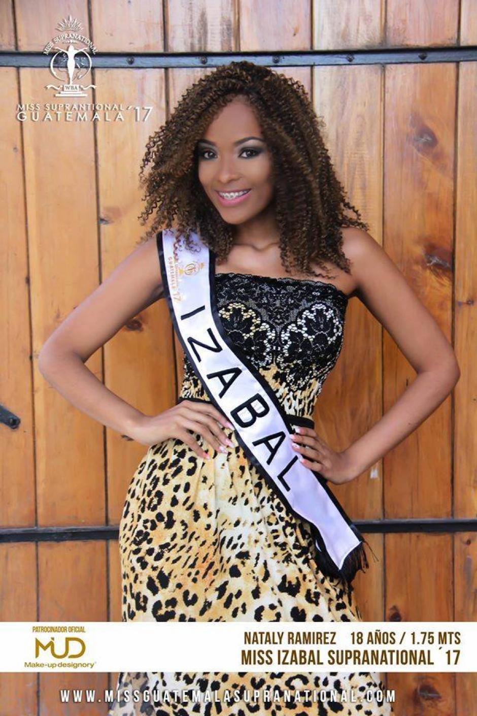 Nataly Ramírez representó a Izabal en el Miss Guatemala Supranational. (Foto: Miss Guatemala Supranational)