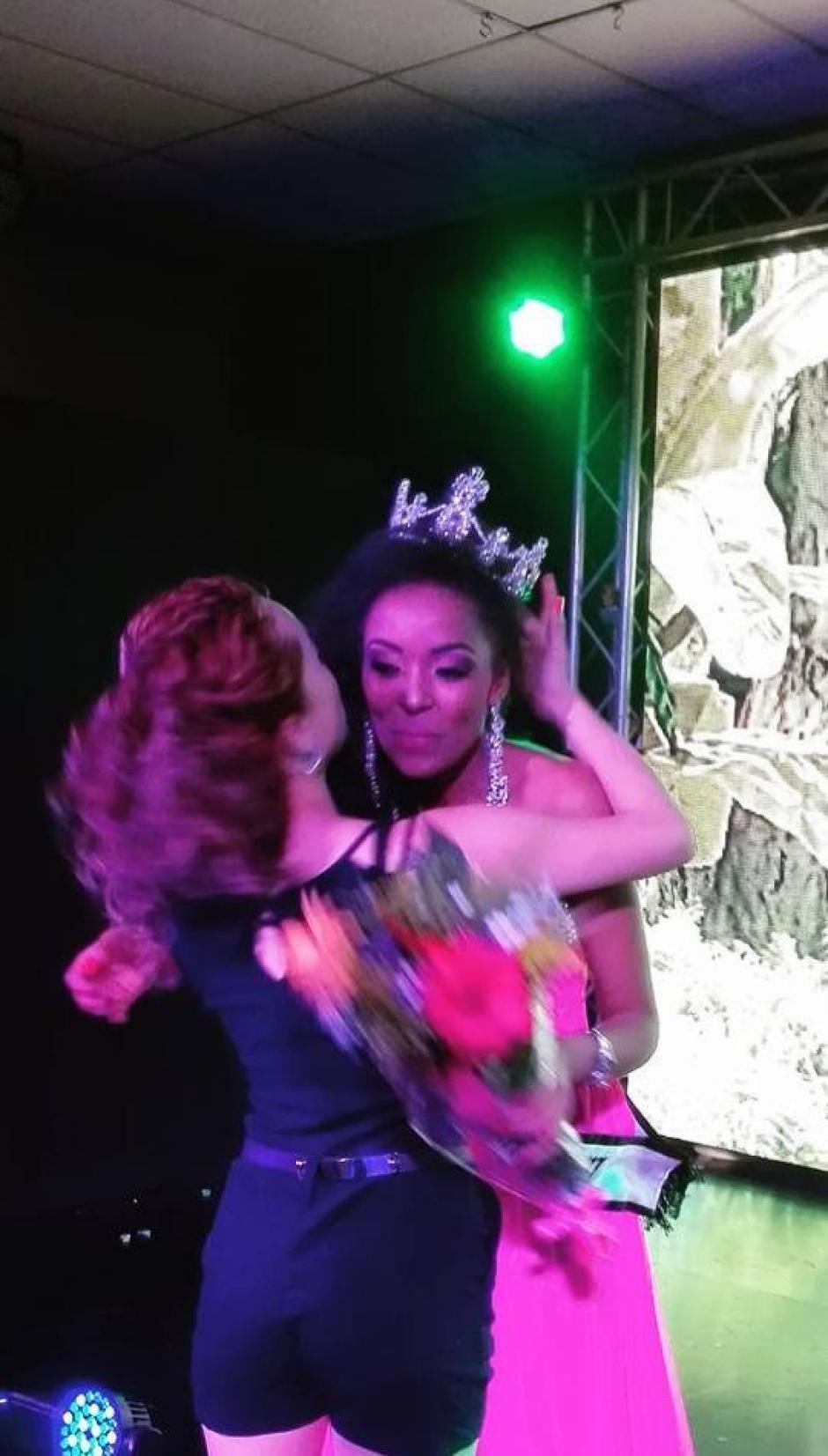 La nueva reina se mostró feliz y agradecida. (Foto: Miss Guatemala Supranational)