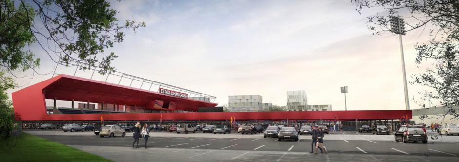 Así lucirá el nuevo estadio Johan Cruyff en Barcelona.  (Foto: FC Barcelona)