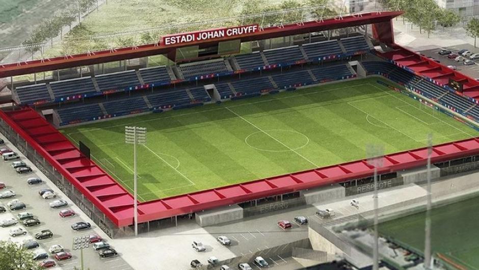 Imponente lucirá el nuevo estadio Johan Cruyff.  (Foto: FC Barcelona)