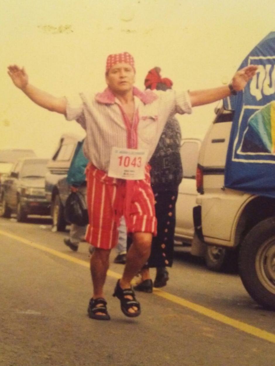 Lleva 30 años corriendo el ascenso a Los Cuchumatanes. (Foto: Pedro Recinos)