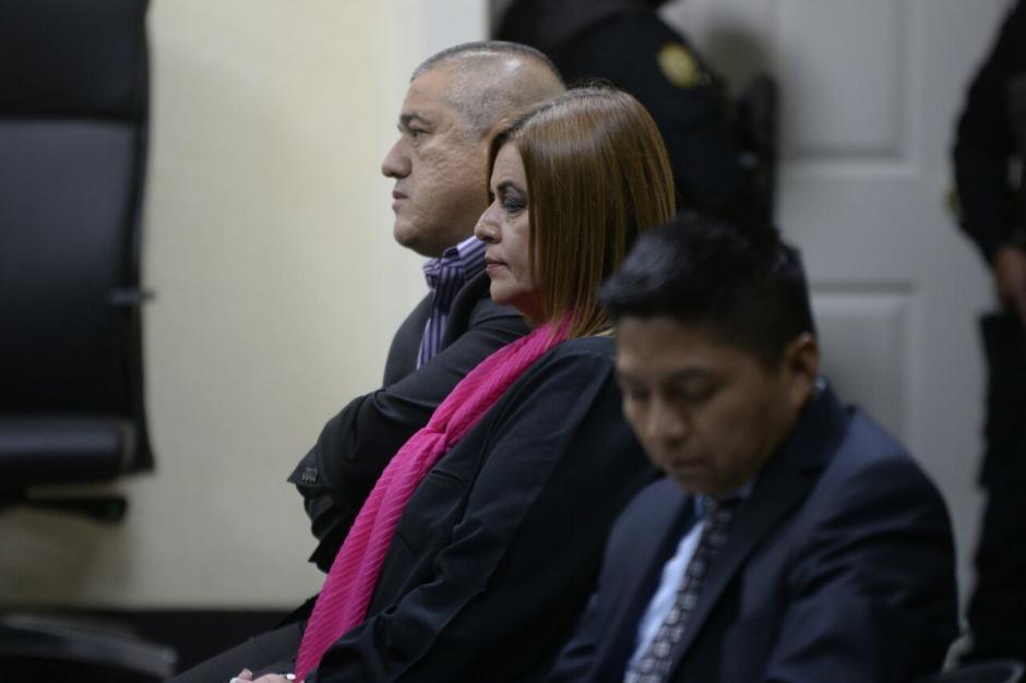 Durante la audiencia llamó la atención su vestimenta. (Foto: Wilder López/Soy502)