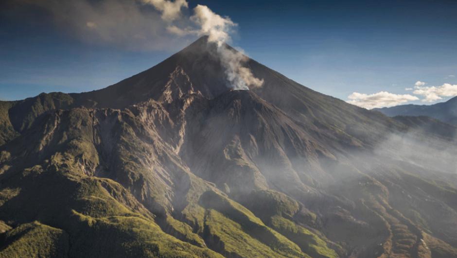 Subir el volcán Santa María es una gran aventura. (Foto: Iván Castro)