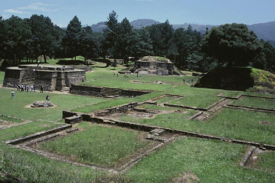Disfruta un rato agradable en Tecpán, visitando el sitio arqueológico Iximché. (Foto: Blogger)