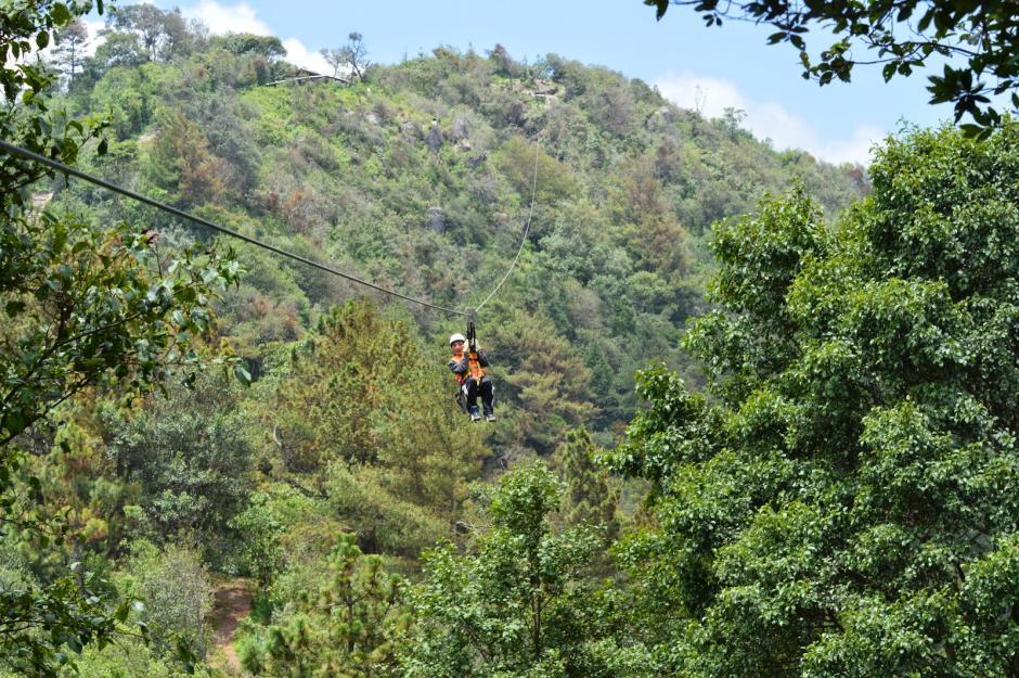 El cerro K'umk'um Wutz en Quetzaltenango es la mejor opción para turismo de aventura. (Foto: Guía turística y del patrimonio cultural)