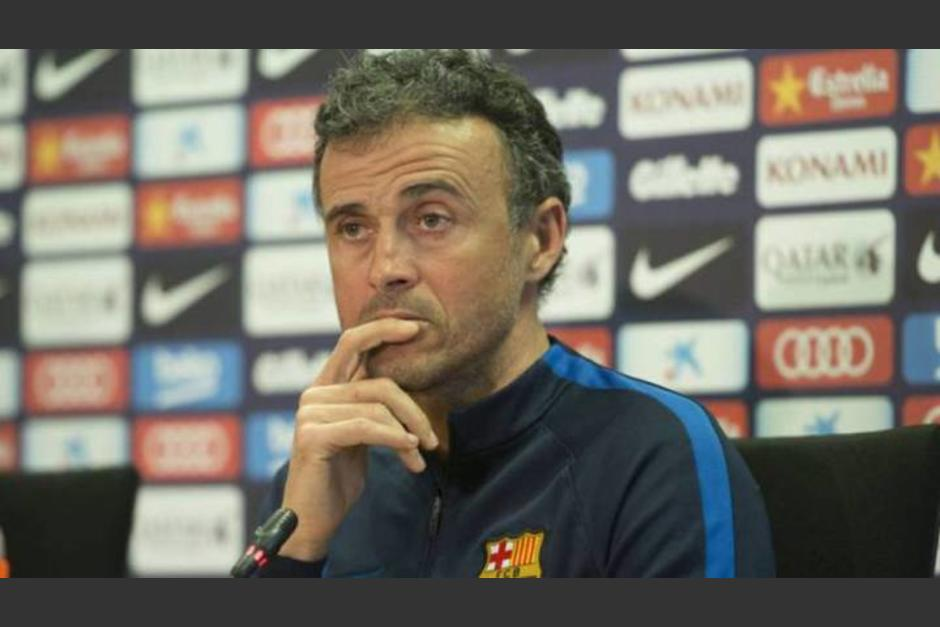 Luis Enrique dejará de ser el director técnico del Barcelona al final de la temporada. (Foto: As)