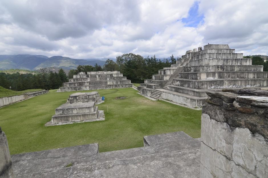 Zaculeu es un importante sitio arqueológico que debes visitar. (Foto: Selene Mejía/Soy502)