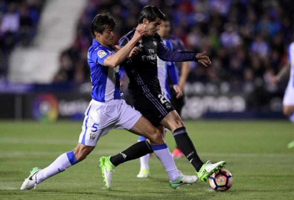 El Real Madrid venció 4-2 al Leganés. (Foto: AFP)