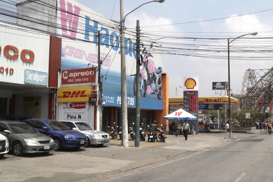 El ordenamiento ha logrado disminuir la contaminación visual en la ciudad. (Foto: Alejandro Balán/Soy502)