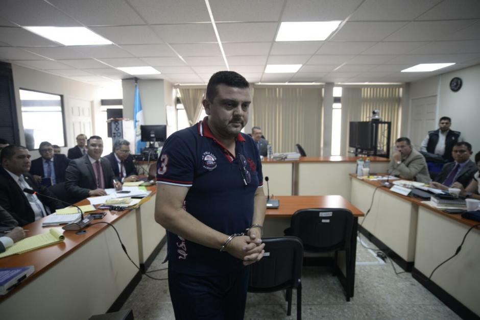 En la diligencia del 5 de abril, declaró Víctor Enríquez (en la foto), Ángel García Javier y Erick Siliézar Mena. (Foto: Wilder López/Soy502)