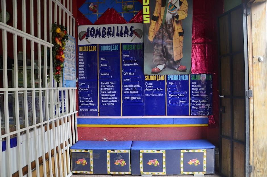 Así es el interior de Helados Marylena. (Foto: Selene Mejía/Soy502)