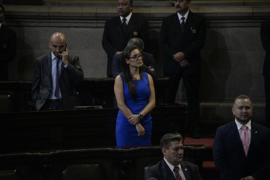 La nueva diputada asesoró a legisladores del Partido Patriota. (Foto: Wilder López/Soy502)