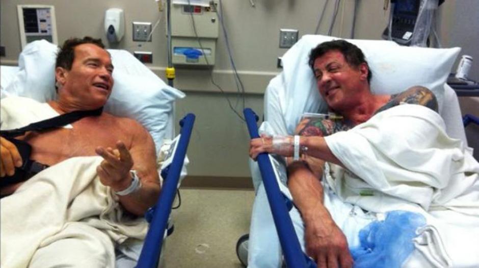 En 2012, ambos actores estuvieron muy cerca mientras esperaban recibir atención médica. (Foto: El Comercio)