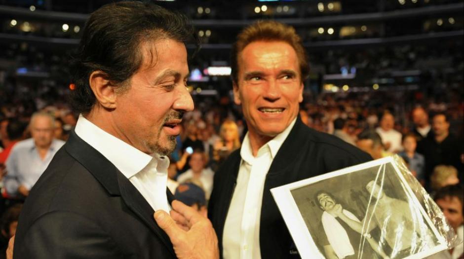 Cuando Stallone cumplió 70 años, Schwarzenegger compartió en Instagram una foto de ambos. (Foto. El Comercio)