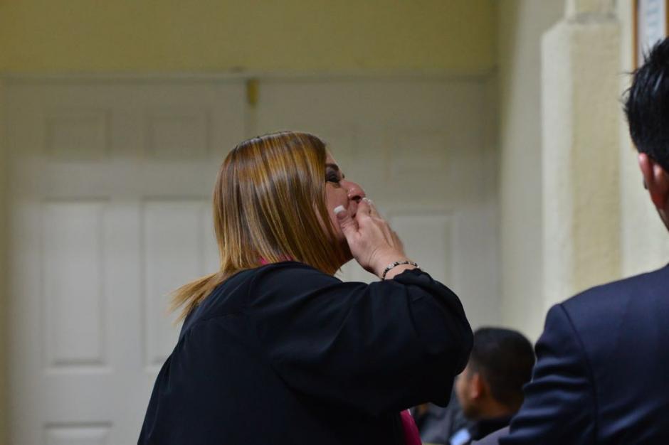 Keller fue ligada a proceso penal por cinco delitos. (Foto: Jesús Alfonso/Soy502)