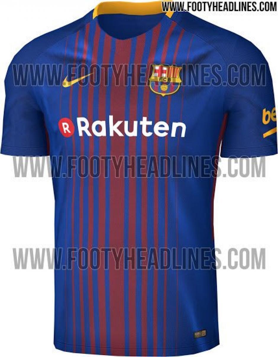 El azul reina en la nueva indumentaria del Barça. (Foto: Footy Headlines)