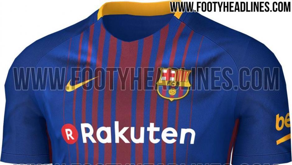La nueva camiseta del Barcelona ha sido anunciada. (Foto: Footy Headlines)