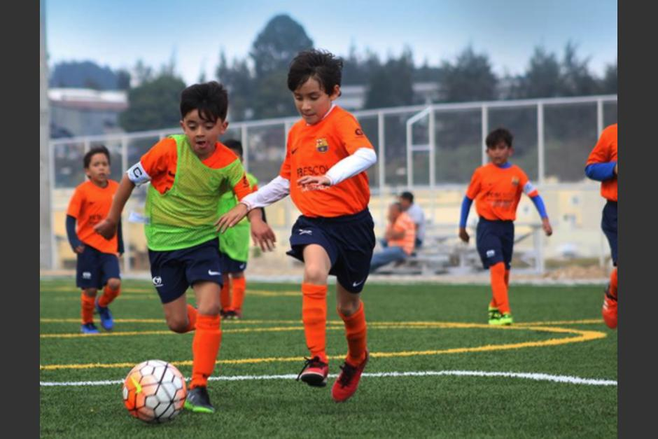 La escuela del Barcelona abrió este mes en Guatemala. (Foto: FCB Escola Guatemala)