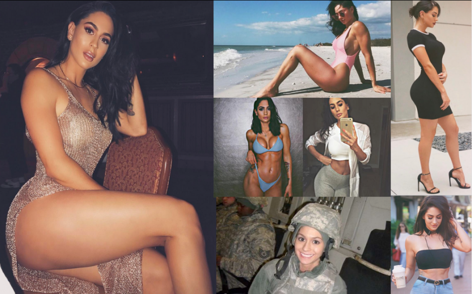 Hope Howard es la soldado más sexy de Instagram. (Foto: Instagram)