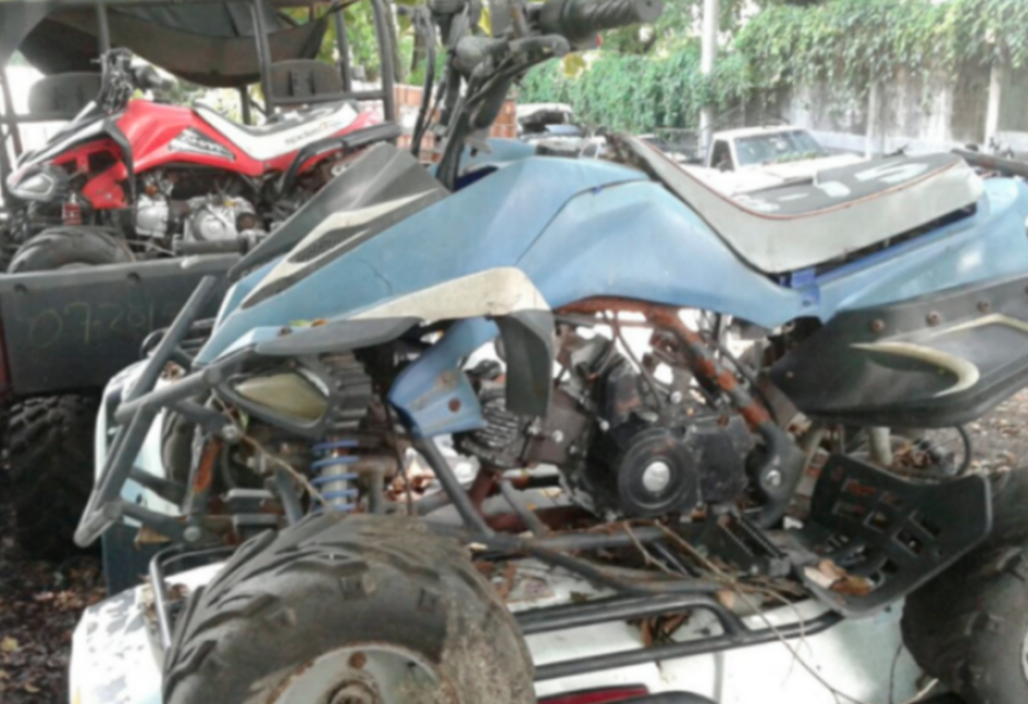Entre los vehículos que tiene embargados la Senabed, las motocicletas y cuatrimotos ocupan la mayor parte. (Foto: MP)