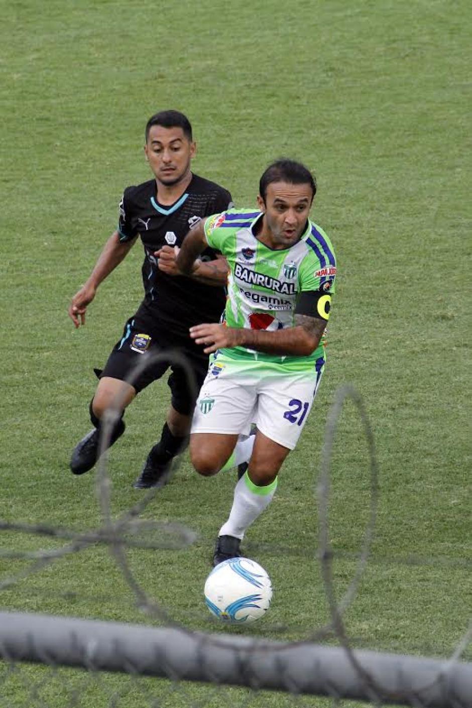 José Contreras mostró un buen nivel frente a Comunicaciones. (Foto: Nuestro Diario)