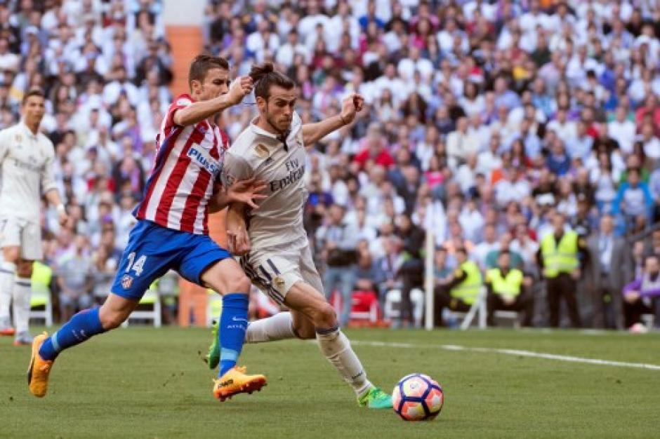 El Real Madrid fue más en el derbi madrileño. (Foto: AFP)