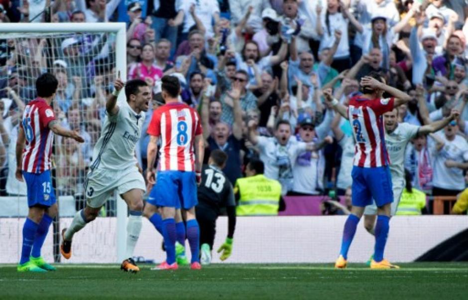 Pepe marcó para el Real Madrid. (Foto: AFP)