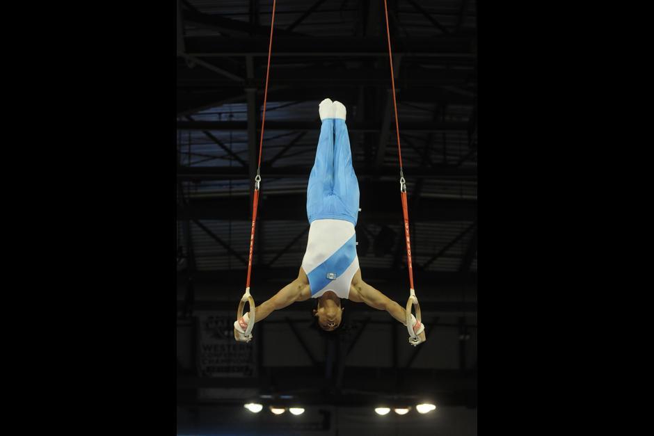 Vega López es campeón panamericano de gimnasia. (Foto: Soy502)