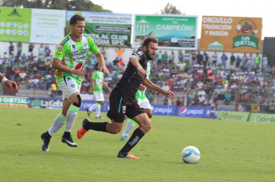 Antigua no pudo sumar los tres puntos como local frente a Comunicaciones. (Foto: Nuestro Diario)