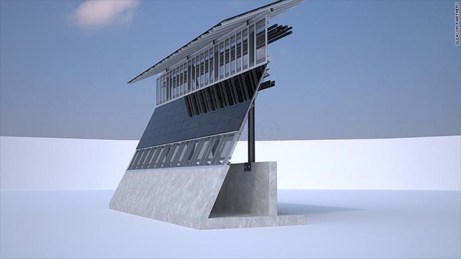 Otro oferente también usaría paneles solares en el muro de Trump. (Foto: CNN)