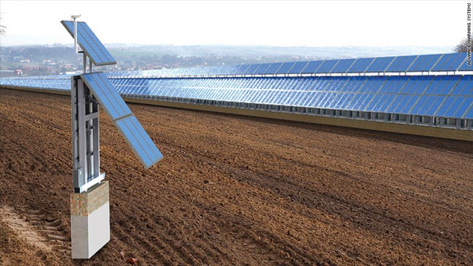 Una propuesta pretende colocar paneles solares. (Foto: CNN)