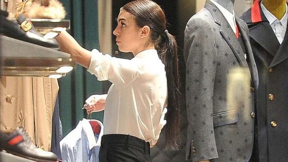 Georgina Rodríguez fue despedida de Prada por la fama de Cristiano Ronaldo. (Foto: Twitter)