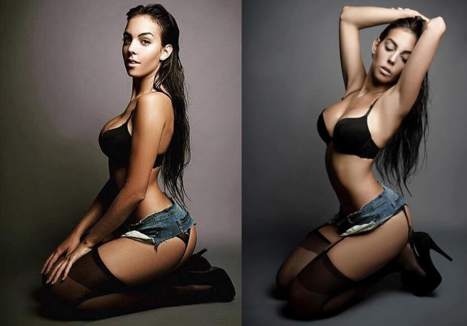 Georgina Rodríguez, la novia de CR7, se dedicará a su carrera de modelo. (Foto: Twitter)