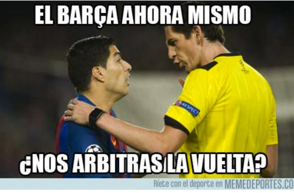 Los del Barcelona esperan ahora el partido de vuelta. (Foto: MemeDeportes)
