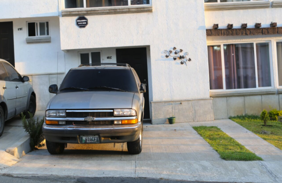 Esta residencia fue allanada en San José Pinula. (Foto: PNC)