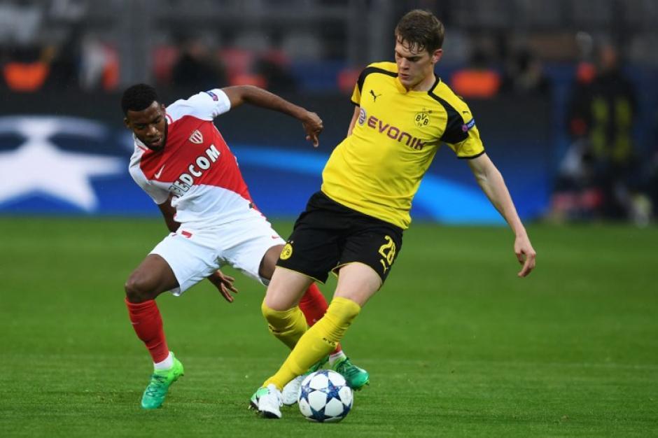 El Monaco se impuso como visitante al Borussia Dortmund. (Foto: AFP)