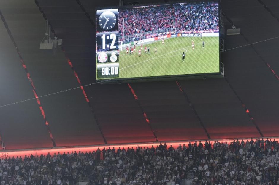 El marcador terminó a favor del Real Madrid. (Foto: AFP)