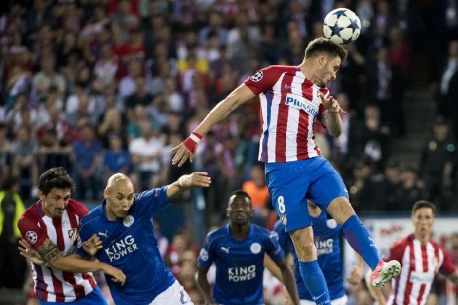 El Atlético de Madrid logró una ajustada victoria ante el Leicester como locales. (Foto: AFP)