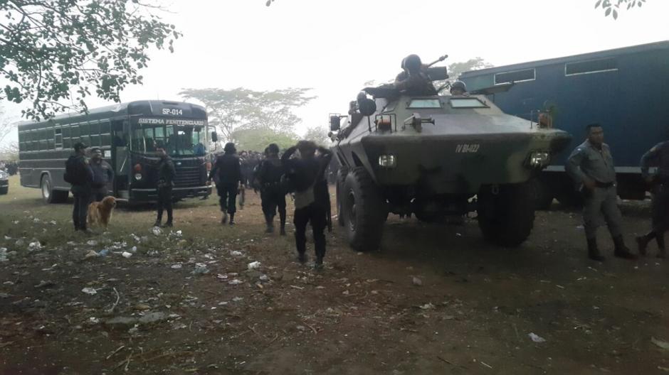 Además del Ejército, participan delegados de la PDH y el MP. (Foto: Presidios)