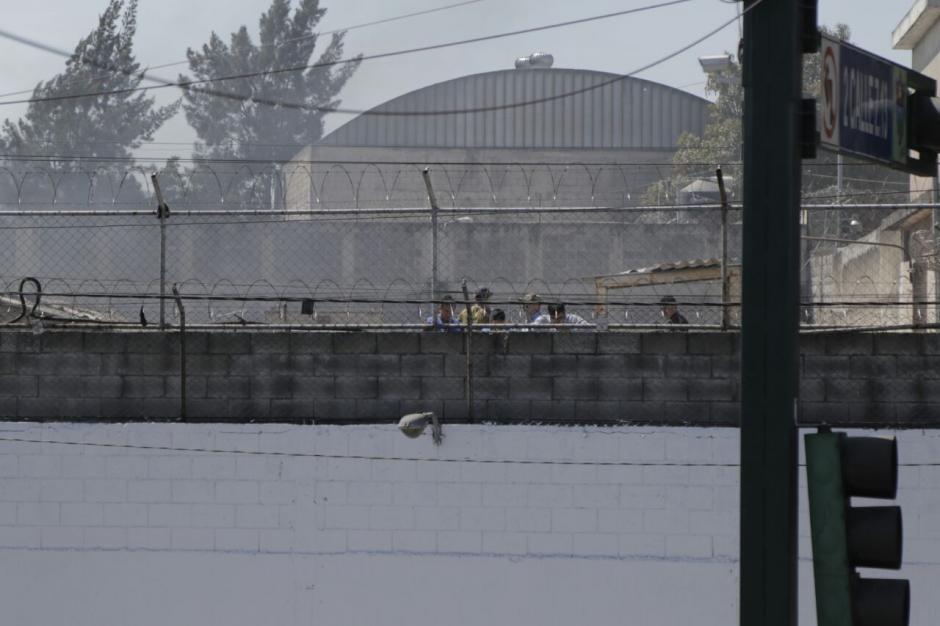 Los internos amotinados se encuentran en el área conocida como Anexo e integran la pandilla Mara Salvatrucha. (Foto: Alejandro Balán/Soy502)