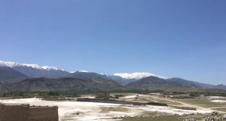 Esta es la vista del distrito de Achin, en donde cayó la bomba no nuclear más poderosa de Estados Unidos. (Foto: cnnespanol.cnn.com/ Ali M Latifi)