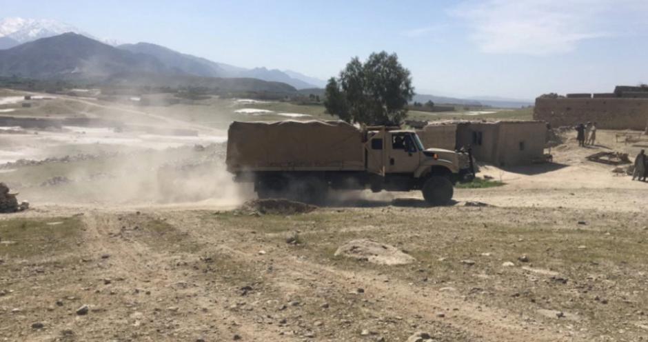 En el lugar las Fuerzas Nacionales de Seguridad de Afganistán realizan revisiones. (Foto: cnnespanol.cnn.com/ Ali M Latifi)