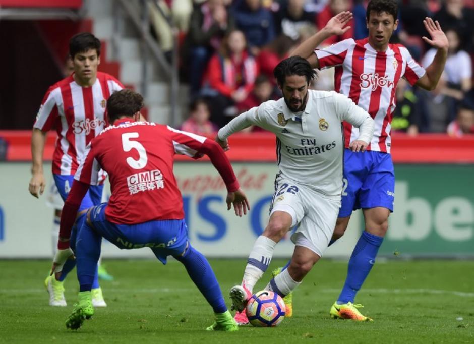 Isco anotó un golazo en el primer tiempo del juego. (Foto: AFP)