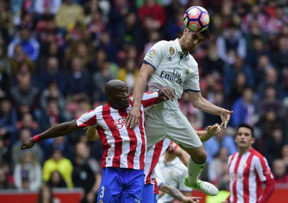 Álvaro Morata empató el juego en la segunda mitad.(Foto: AFP)